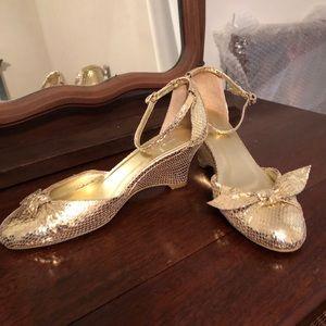 Rebecca Taylor Low Wedge Heels